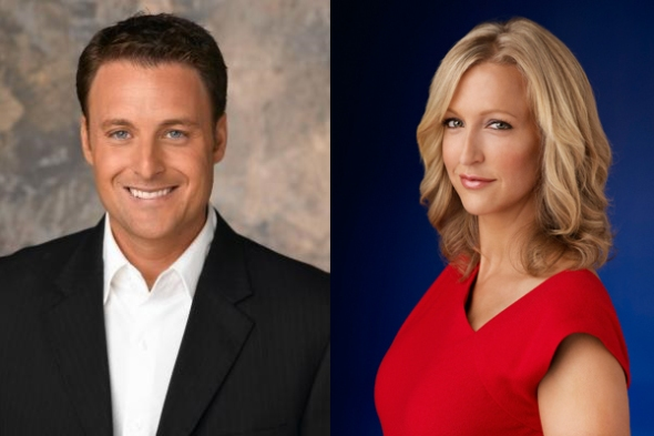 Chris Harrison and Lara Spencer