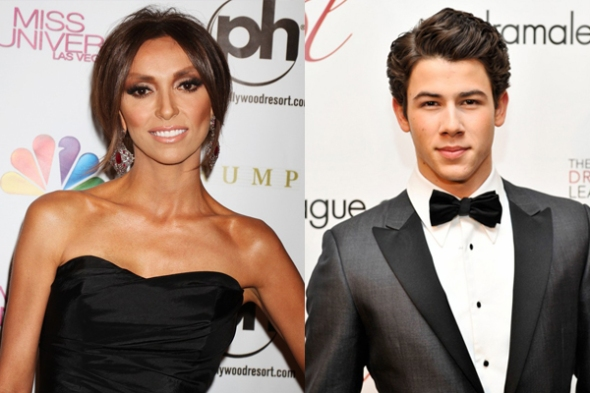 Giuliana Rancic and Nick Jonas